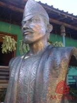 patung-sultan-badarudin