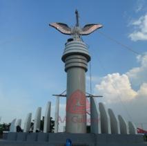 Patung Tembaga Gagak Winangsih 01