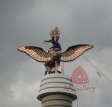Patung Tembaga Gagak Winangsih 13