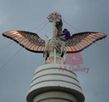 Patung Tembaga Gagak Winangsih 12