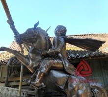Patung Kuda Tembaga 01