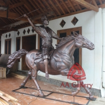 Patung Kuda Tembaga 02