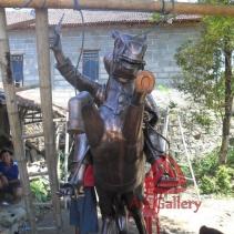 Patung Kuda Tembaga 11