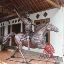Patung Kuda Tembaga 15
