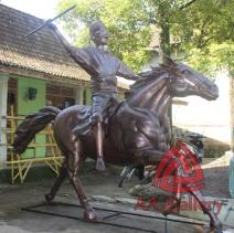 Patung Kuda Tembaga 23