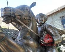 Patung Kuda Tembaga 03