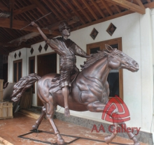 Patung Kuda Tembaga 06
