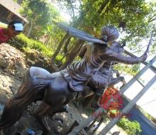 Patung Kuda Tembaga 07