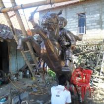 Patung Kuda Tembaga 14