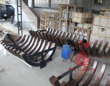 Produksi tugu Tembaga 09