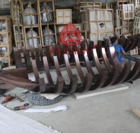 Produksi tugu Tembaga 06
