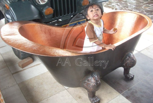 Kerajinan Bathtub Tembaga