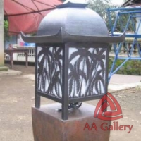 Kerajinan Lampu Taman Tembaga – Lampu Stand Taman