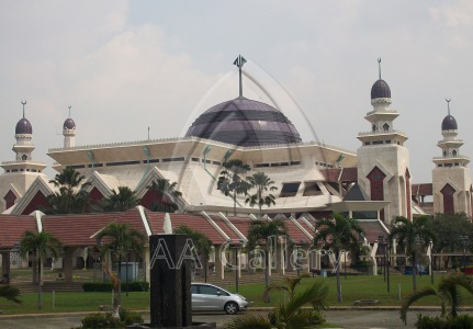 Kerajinan Kubah Tembaga Masjid