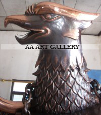 Kerajinan Tembaga/Kuningan Lambang Garuda