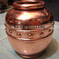 Kerajinan Vase Berbahan Tembaga dan Kuningan