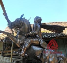 Patung Kuda dari Tembaga