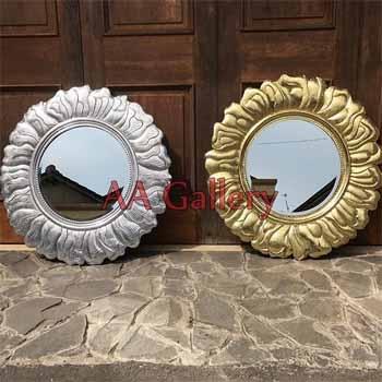 Frame Kuningan dan Alumunium Untuk Cermin